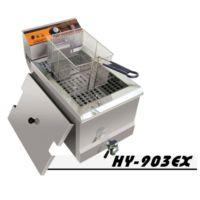 汇利HY-903EX单缸单筛电炸炉电炸锅油炸锅商用炸薯条炸鸡设备