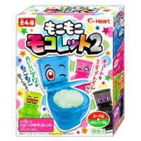 日本进口零食 Heart马桶坐便器饮料DIY食玩手工糖果玩具8X8