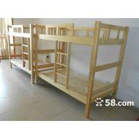 西安纯进口实木公寓床 厂家批发学生床 贝贝乐家具