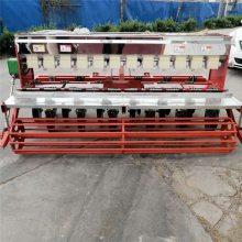 拖拉机带动播种机 用的谷子精播机 富兴大型六行播种机拖拉机