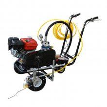 供应天德立TDL55冷喷划线机/汽油马路标线机/小区操场马路冷喷划线车