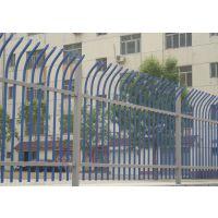 江苏绿化围墙铁艺护栏 工厂围墙方管喷塑栏杆 学校组装围栏