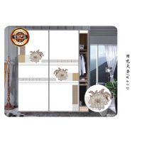 【精品热销】供应佳汇家居超白彩绘玻璃衣柜门 高档UV打印魔幻5D创意 商家主营