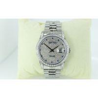 厂家批发不锈钢镶钻满天星情侣表手表