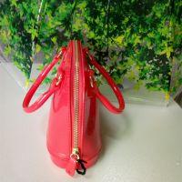 2016新款pvc女包拱桥型果冻不透明女式手提包深圳厂家定做直销中可弘世箱包女式手提包