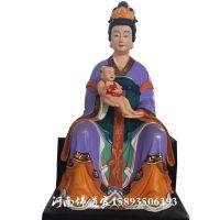 河南佛道家供应顺天圣母神像1.8米 九天玄女娘娘 送子张仙 佛像批发