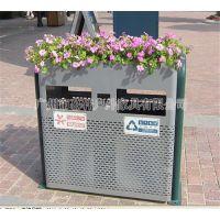 广州定做校园垃圾桶,小区室外果皮箱,公园垃圾桶价格