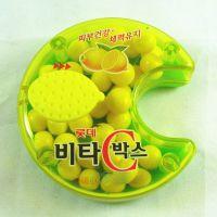 【老先森】韩国乐天柠檬VC糖30g 宝宝补充维C 进口糖果 一件代发