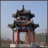 北京厂家定制古建六角圆柱凉亭 中式古建景观凉亭 户外古建凉亭