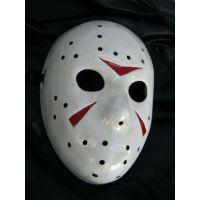 厂家直销PVC面具手绘万圣节面具环保装扮舞会鬼面具