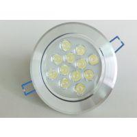 205新款热销 酒店KTV专用 装饰工程灯具 大功率LED 12W天花灯