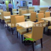 大理石餐桌椅 连锁餐厅大理石餐桌,不锈钢底盘餐桌,多多乐家具