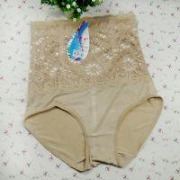 厂家直销女士内裤 现货供应收腹裤 产后美体竹纤维收腹裤批发