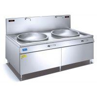 莱西电磁双大锅价格亲和力 QHL-SDC25 25KW节能率高无噪音无污染