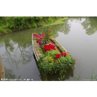供应庆荣木业公园装饰船、服务类船、画舫、欧式木船、婚纱摄影道具船