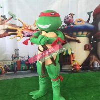 绿和卡通厂家直销忍者神龟卡通服装大型穿人动漫人偶活动促销表演卡通道具