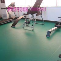 健身房地胶 健身房专用塑胶地板北京鹏辉厂家直供
