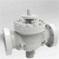 API6D Flanged Ends Full Bore Top Entry Cast Steel Ball Valve Pneumatic Electric Actuator