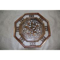 厂家直销 东阳木雕挂件新款 方形仿古东阳木雕工艺挂件 定做批发
