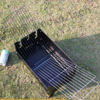 厂家直销烧烤炉户外便携烧烤炉子折叠碳烧烤箱 BBQ家用烧烤架