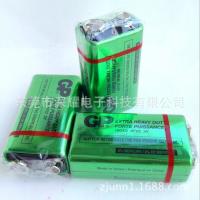 供应 GP超霸 1604G 6F22 9V 碳性电池