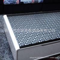 圆圈方格透明高档PVC软玻璃水晶桌布桌垫茶几台布防水防油免洗