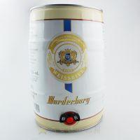 进口啤酒 德国啤酒批发团购 沃德古堡桶装白啤酒5L桶装 酒会专用