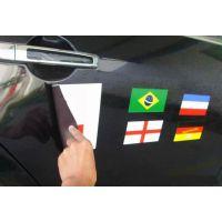 供应磁性车贴磁性材料广告磁板材料汽车贴磁性车贴直接吸附到铁的软磁贴磁块