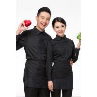 深圳餐饮制服定制,订做服务员工作服RJCY-4
