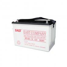 EAST广东易事特蓄电池np100-12铅酸免维护原装正品