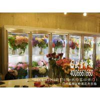 四川成都武侯区芳馨花屋鲜花保鲜柜四门展示冷藏柜LCB-2600B4