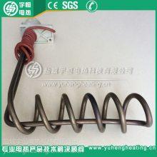 【宇恒工厂】L型螺旋型钛加热管 耐腐蚀加热管 带接线盒钛加热管