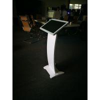 广州厂家供应莱斯威顿22寸立式落地电容触摸查询一体机液晶显示器