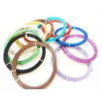 【厂家直销】专业生产供应各类饰品线料彩色铝线