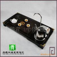 茶盘三合一电磁炉 多功能实木组合电磁茶盘 电磁茶炉