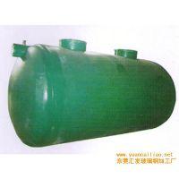 华强直销75立方玻璃钢化粪池 缠绕式化粪池