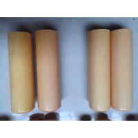 厂家直销纯天然黄杨木园章18mm*60mm章料批发印章材料尺寸可定制
