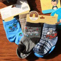 原单4双装卡特飞船赛车袜 出口美国carter's全棉宝宝袜批发 卡纸