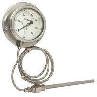 电接点压力式温度计,不锈钢压力式温度计
