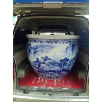 青花瓷浴场澡缸 和艺陶瓷浴缸 高档泡澡缸 陶瓷浴缸