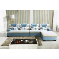 强胜沙发厂供应休闲布艺、时尚转角沙发