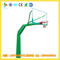 湘西室外埋地篮球架价格|吉首社区公园带箱子篮球架生产厂家