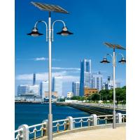 太阳能路灯为市民带来环保的生活