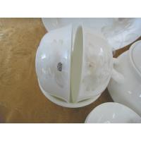 供应华耀瓷业厂家直销2016年骨瓷餐具一花一世界50头餐具