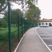 珠海锌钢围挡 小区铁艺护栏网 防攀爬护栏可定制 钢材