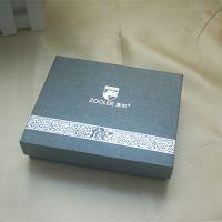 广州厂家 特种纸烫银精装手工礼盒 女包天地盖套盒 配同款手提袋