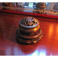 上海手工制作青铜熏香炉 仿古铜香炉 沉香熏炉 五福熏炉 中国文化艺术品青铜香炉