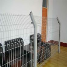 电厂专用双边丝护栏网 小区护栏网 厂区围栏定做