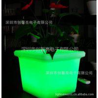 专业供应优质塑料LED花盆(图) 蝴蝶盆 立体花盆1201