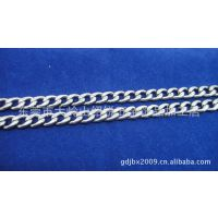 东莞厂家生产韩国NK链手链配件,304不锈钢BNK链1.8mm